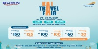Diskon Tiket Kereta Api di KAI Travel Fair