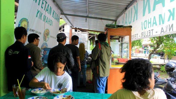Penyetan Kuah Yik Mahdi Kuliner Yogyakarta