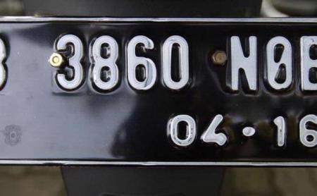 Korlantas Rencana Ganti Warna Pelat Nopol Kendaraan