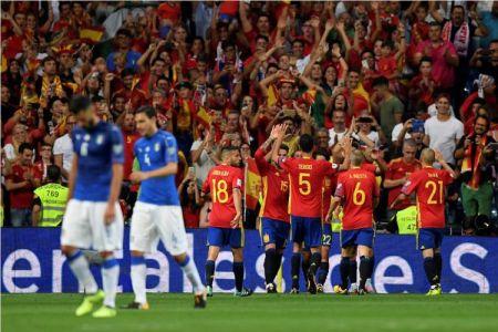 Hasil Kualifikasi Piala Dunia Spanyol vs Italia
