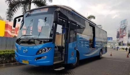 Bus Premium Transjabodetabek Resmi Diuji Coba