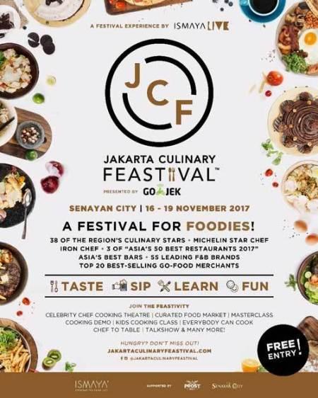 Wisata Kuliner di Jakarta Culinary Feastival (JCF) 2017