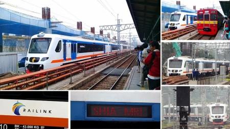 Ini Rute, Jadwal dan Tarif Kereta Bandara Soekarno Hatta