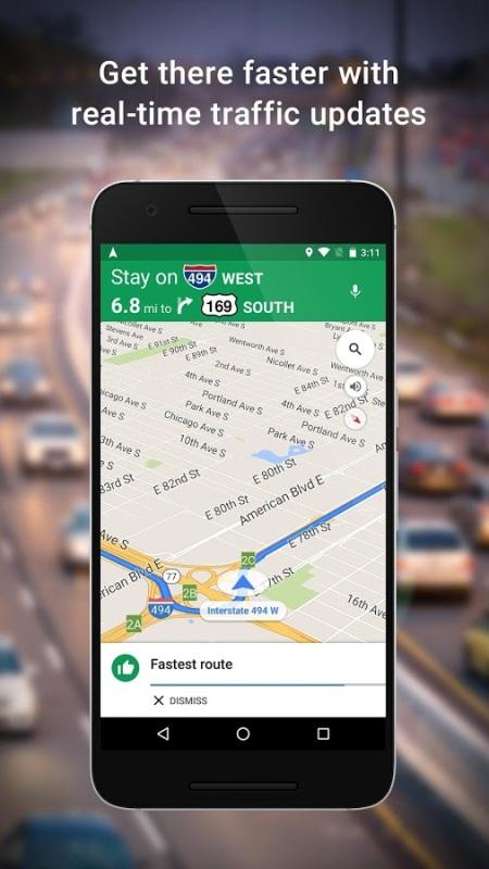 Versi Terbaru Google Maps Lebih Mudah Digunakan