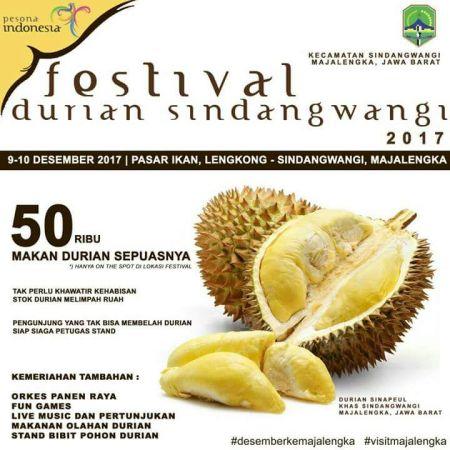Festival Durian Kawit Wangi Sindangwangi 2017