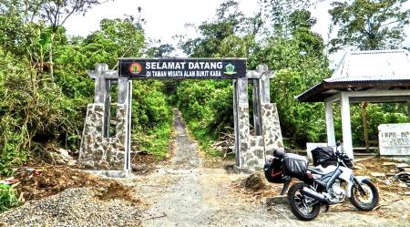 Taman Wisata Alam Gunung Api Bukit Kaba Ditutup Sementara