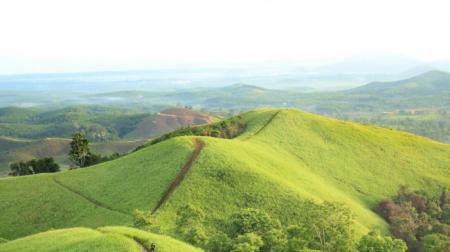 Indahnya Panorama Bukit Telang di Kalimantan Selatan