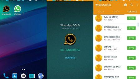 Waspada Penipuan Aplikasi Palsu WhatsApp Gold