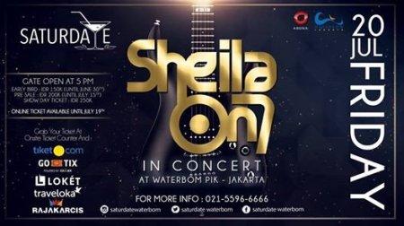 Konser Sheila on 7 di Waterbom PIK Jakarta