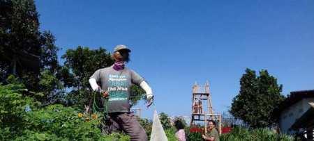 Saralas Garden Bantul, Kebun Bunga Spot Selfie